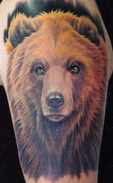 Animal Tattoo Bear