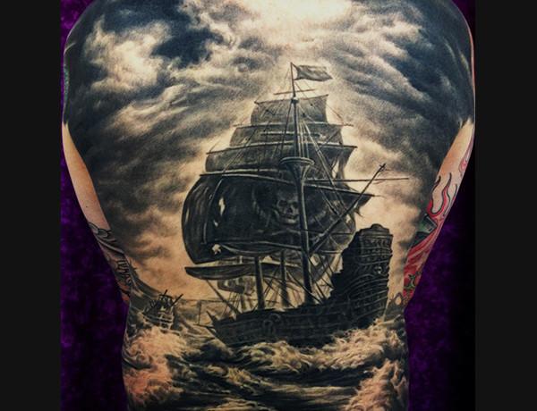 Back 07  Dawei Zhang Tattoo Artist