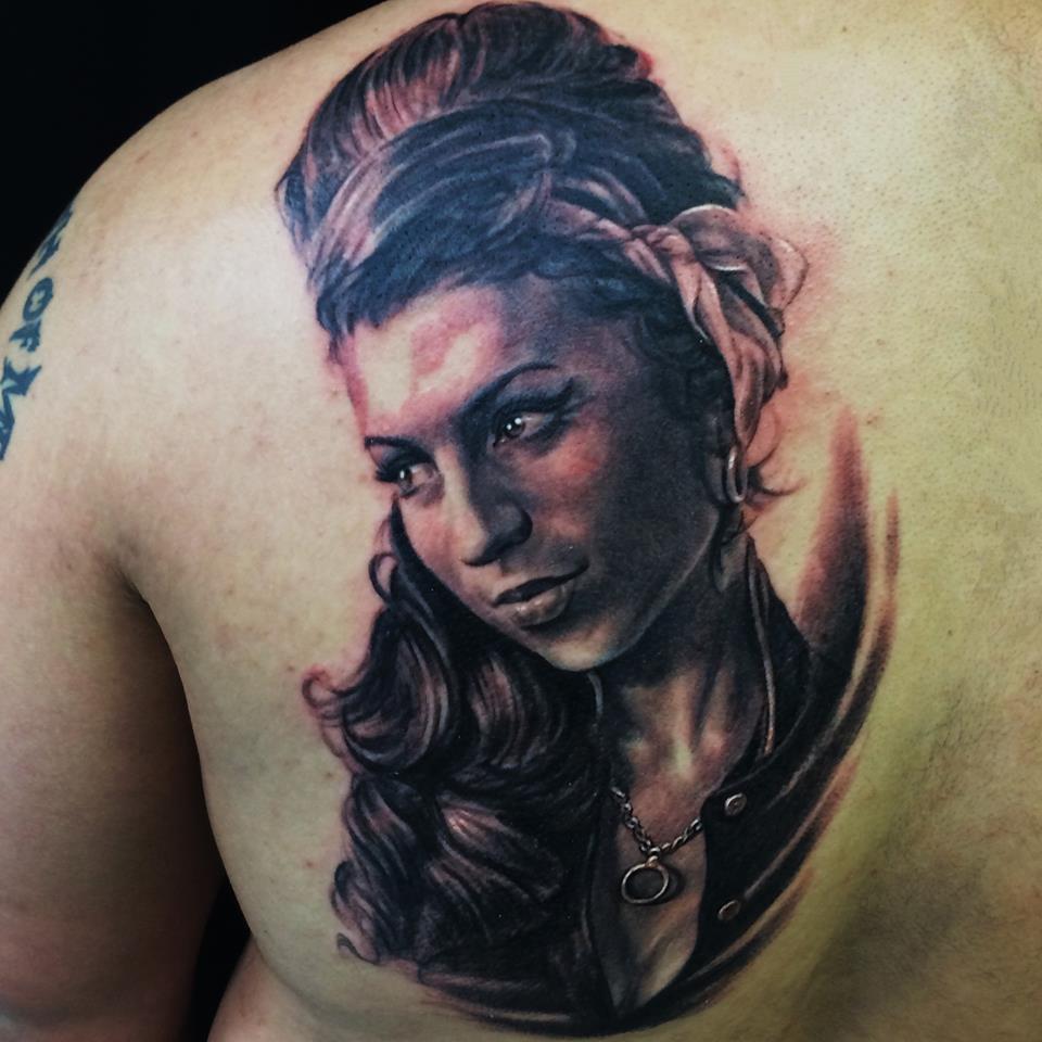Gallery 4 | Dawei Zhang Tattoo Artist, Dawei Tattoo, portrait tattoo ...